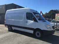 MERCEDES SPRINTER 310 MWB HIGH TOP YEAR 2013, VGC IN AND OUT + FULL MERCEDES SERVICE HISTORY