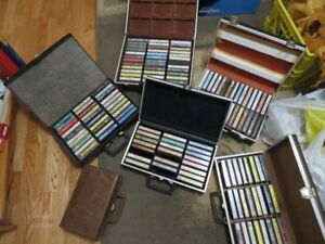 Cassettes and cases - Assorted Country Artists $10.00 for all