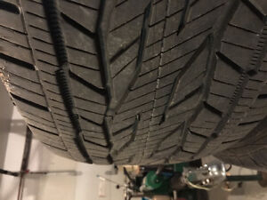 Continental Cross contact 275/55R20 like new!!
