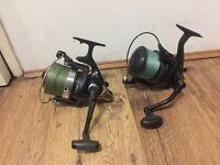 Fishing spod reels - Diawa and wychwood