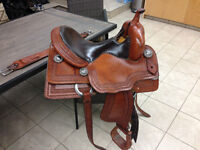 "15"" Bobs Custom Built Saddle"