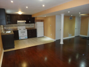 Newly Built-2 Bdrm-Bright & Elegant Bsmt in Markham -Avail Immed