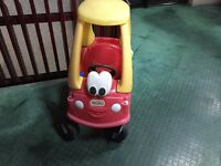Little Tikes car toy in good used condition