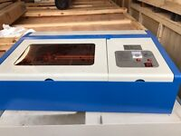 Laser cutter engraver 30cm by 20cm