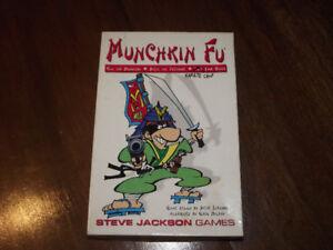 jeu de société - Munchkin Fu