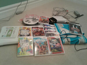 Wii game console and loads of games