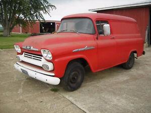 wanted 1958-1959 swb van