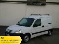 PEUGEOT PARTNER 1.9 LX 600 D NO VAT WHITE SIDE DOOR ROOF RACK VAN NEW MOT CLEAN