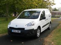 14 PEUGEOT PARTNER 1.6 850s HDI (89K MILES) AIR CON - BLUETOOTH (FSH)