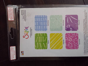 Sizzix 6  New in package ...set of 6