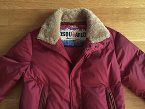 Dsquared2 Mens Puffer Jacket MSRP $1995