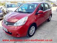 2009 Nissan Note 1.6 16v automatic Acenta