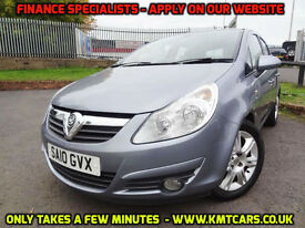 2010 Vauxhall Corsa 1.4i 16v (100ps) (a/c) SE - ONLY 51000mls Full Hist KMT Cars