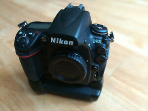 Nikon D700 with Grip and Dual Batteries (Low Shutter Count)