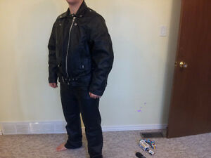 Hot Leathers Genuine Leather Motorcycle Suit Cambridge Kitchener Area image 3