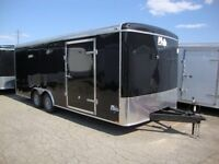 8.5' Wide Cargo Trailers & Car Haulers -Built by M