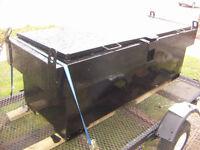 JOB-Site BOX, HD Steel, Approx 7 ft long, Black