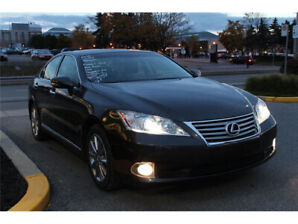 2012 Lexus ES ULTRA PREM/NAV/MARK LEV AUDIO/PANO ROOF/LOW KM!!