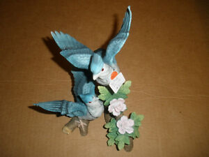 Ceramic Blue Jay Figurine London Ontario image 3