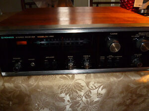 Vintage Pioneer SX-440 AM/FM Stereo Receiver Phono Amplifier