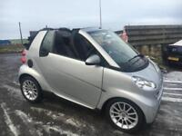 2010 10 Smart fortwo Passion Convertible 0.8cdi 54 Bhp (leather, sat Nav)