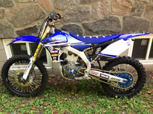 Yamaha YZ450 with ownership
