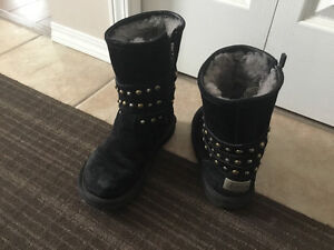 Ladies UGG boots with stud details size woman's 6
