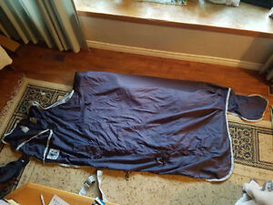 Horse blanket-4 in 1 blanket barely used