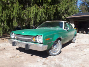 1974 AMC Hornet RUNS, DRIVES AND STOPS