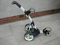 Motorcaddy M1 golf trolley lithium battery