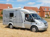 HYMER VAN 522 CL, 3 Berth, 2007, Ford 2.2D, Rear Garage, Transverse Bed, AIR CON