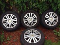 2006 Ford Focus alloy wheels