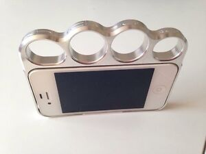 iPhone 4 with knuckle case.  Peterborough Peterborough Area image 1