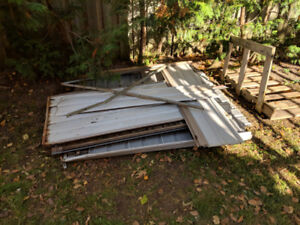 Free scrap metal, available for pick-up only