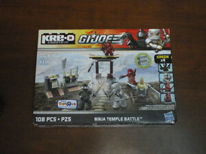 GI Joe-Ninja Temple Battle - by Kre-o Create it