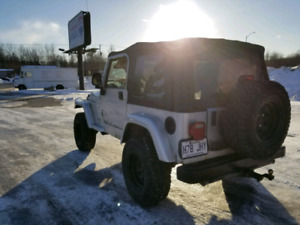 RECHERCHE JEEP TJ POUR PIECES/ROUTE (LOOKING FOR)