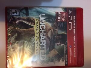 Still sealed Uncharted Drakes Fortune $10