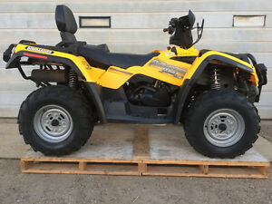 2005 Bombardier MAX XT 400 HO 4x4 with Trailer