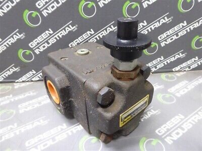Used Parker R6sh Kg Direct Operated Hydraulic Relief Valve 34
