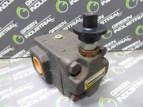 """USED Parker R6SH KG Direct Operated Hydraulic Relief Valve 3/4"""""""