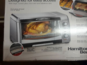 Toaster/convection oven.  Only used once.
