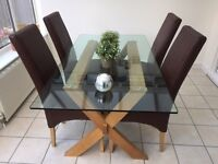Roomes of Upminster Dining Table and Chairs