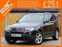 2009 BMW X3 2.0 20d xDrive Turbo Diesel SE Exclusive 4x4 4WD 6 Speed Auto Full L