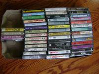 lot 45 audio-cassettes (K-7)