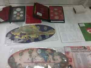 Proof coin sets, bills, stamps sportscards plus 600 booths  Cambridge Kitchener Area image 6