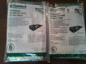 Kenmore Disposable Upright Vacuum Cleaner Bags Product #50501