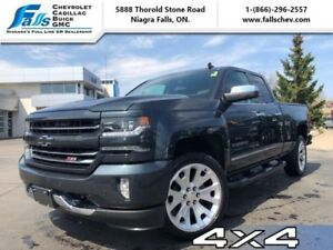 "2017 Chevrolet Silverado 1500 LTZ  4X4,5.3L,NAV,LEATHER,Z71,22""A"
