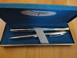 Vintage Simpsons ball point pen with refill and case London Ontario image 4