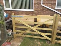 TWO 6ft FIELD GATES PLUS FURNITURE BRAND NEW