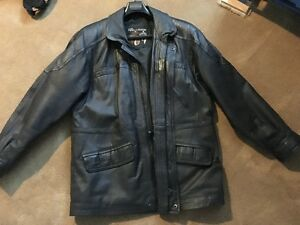 Leather Men's Jacket XL